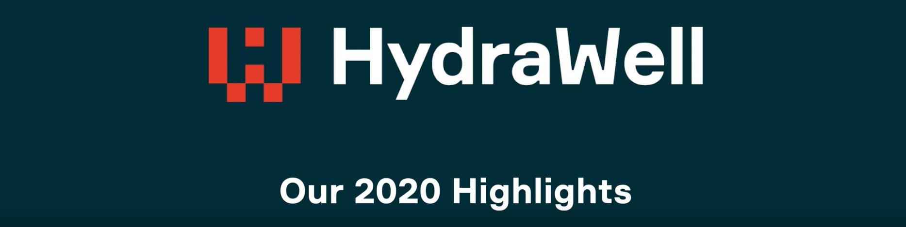 HydraWell 2020 Highlights