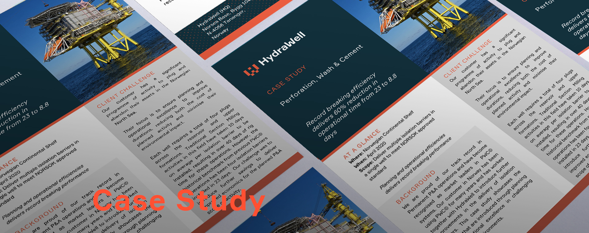 Case Study:Record breaking efficiency delivers 60% reduction in operational time